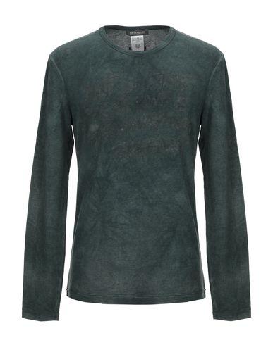 Фото - Женскую футболку ERMANNO DI ERMANNO SCERVINO темно-зеленого цвета