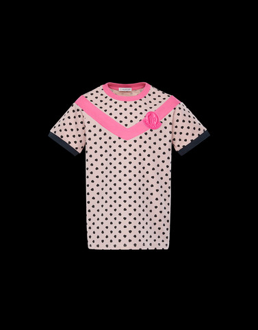 T-SHIRT Pink Junior 8-10 Years - Girl Woman