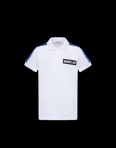 POLO SHIRT White Junior 8-10 Years - Boy Man