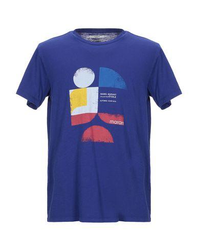 Купить Женскую футболку ISABEL MARANT ÉTOILE темно-синего цвета