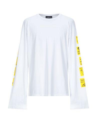 Купить Женскую футболку COMME DES FUCKDOWN белого цвета