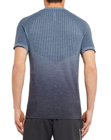 Фото 2 - Женскую футболку  грифельно-синего цвета