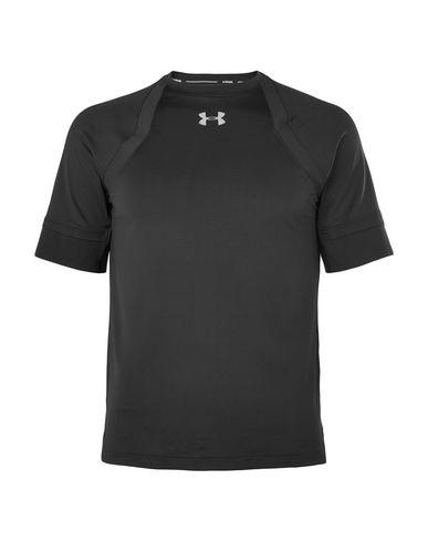Фото - Женскую футболку UNDER ARMOUR черного цвета
