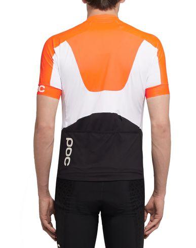 Фото 2 - Женскую футболку POC оранжевого цвета