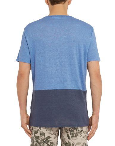 Фото 2 - Женскую футболку ONIA лазурного цвета