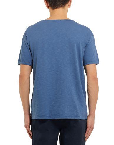 Фото 2 - Женскую футболку EIDOS грифельно-синего цвета