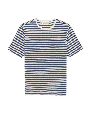 Фото - Женскую футболку OFFICINE GÉNÉRALE Paris 6ᵉ темно-синего цвета