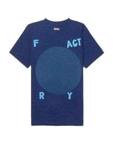 Фото - Женскую футболку KAPITAL темно-синего цвета