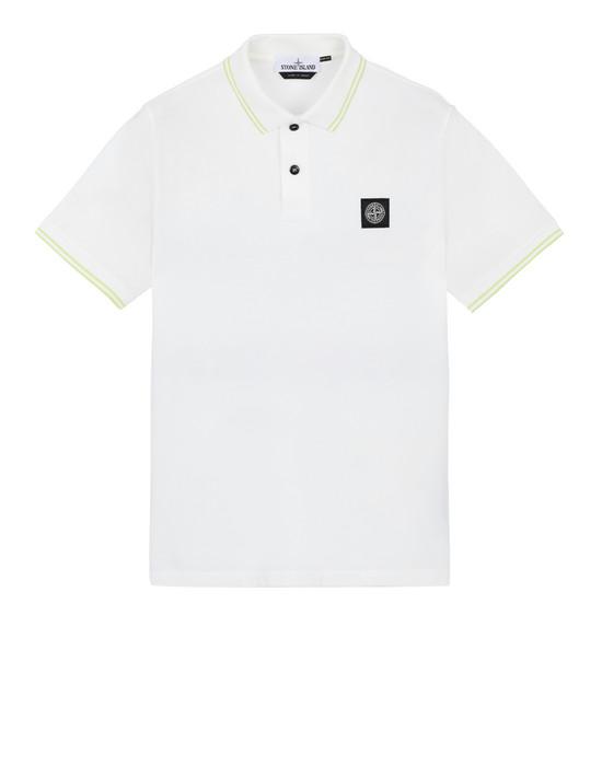STONE ISLAND 22S18 Polo shirt Man Ivory