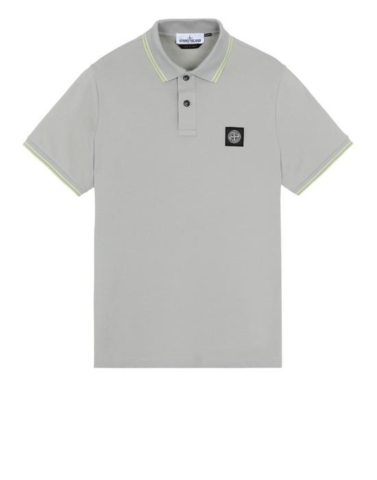 STONE ISLAND 22S18 Polo shirt Man Dust Gray
