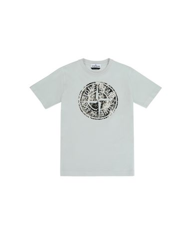 STONE ISLAND JUNIOR Short sleeve t-shirt Man 21057 f