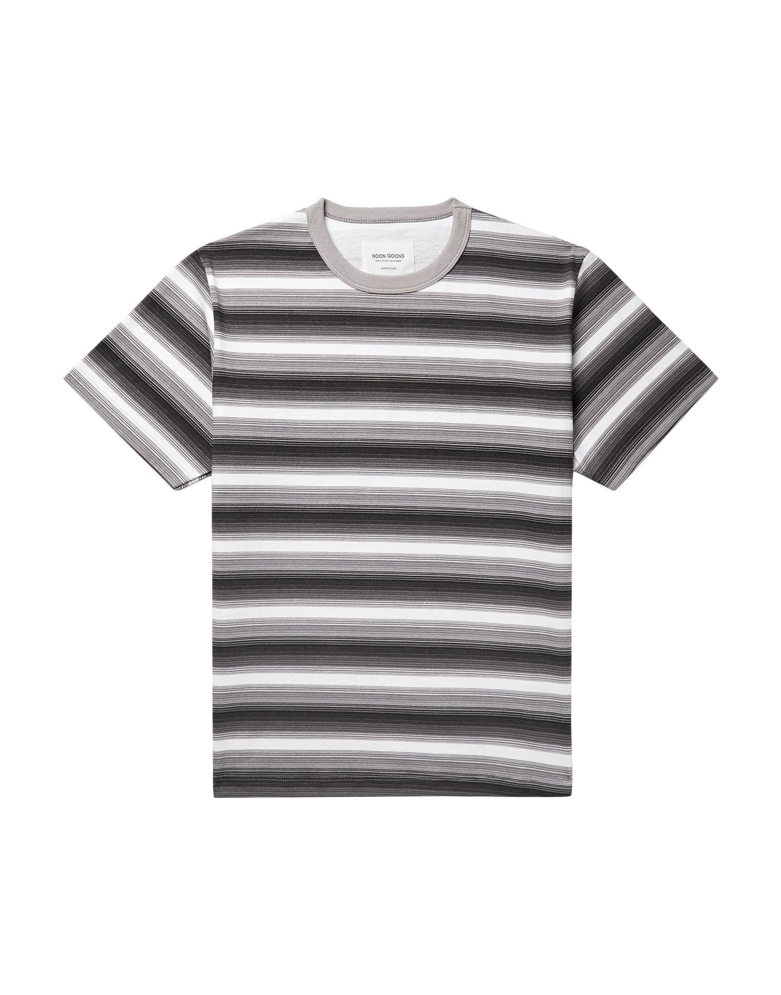 《セール開催中》NOON GOONS メンズ T シャツ グレー S コットン 100%