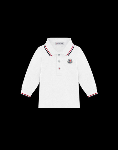 POLO SHIRT Ivory Baby 0-36 months - Boy Man