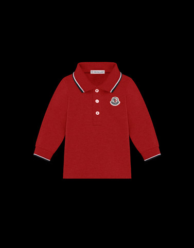 POLO SHIRT Red For Kids