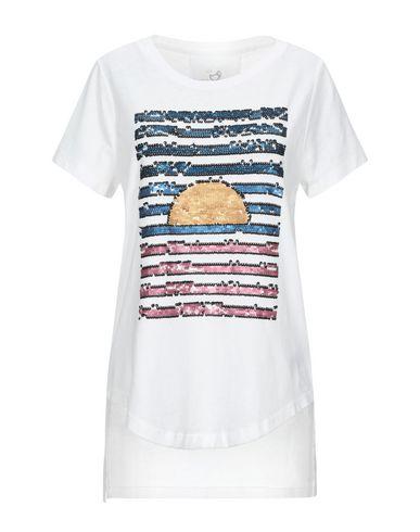 Купить Женскую футболку GWYNEDDS белого цвета