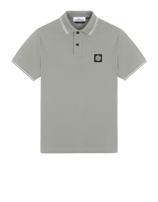STONE ISLAND 22S18 Polo shirt Man Mud