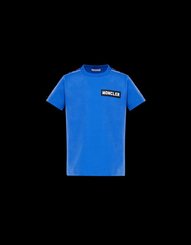 T-SHIRT Bright blue Junior 8-10 Years - Boy Man