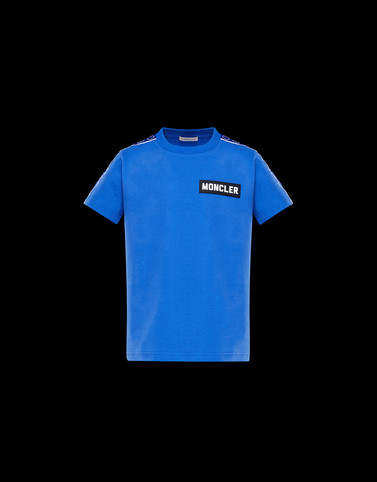 T-SHIRT Bright blue Teen 12-14 years - Boy Man