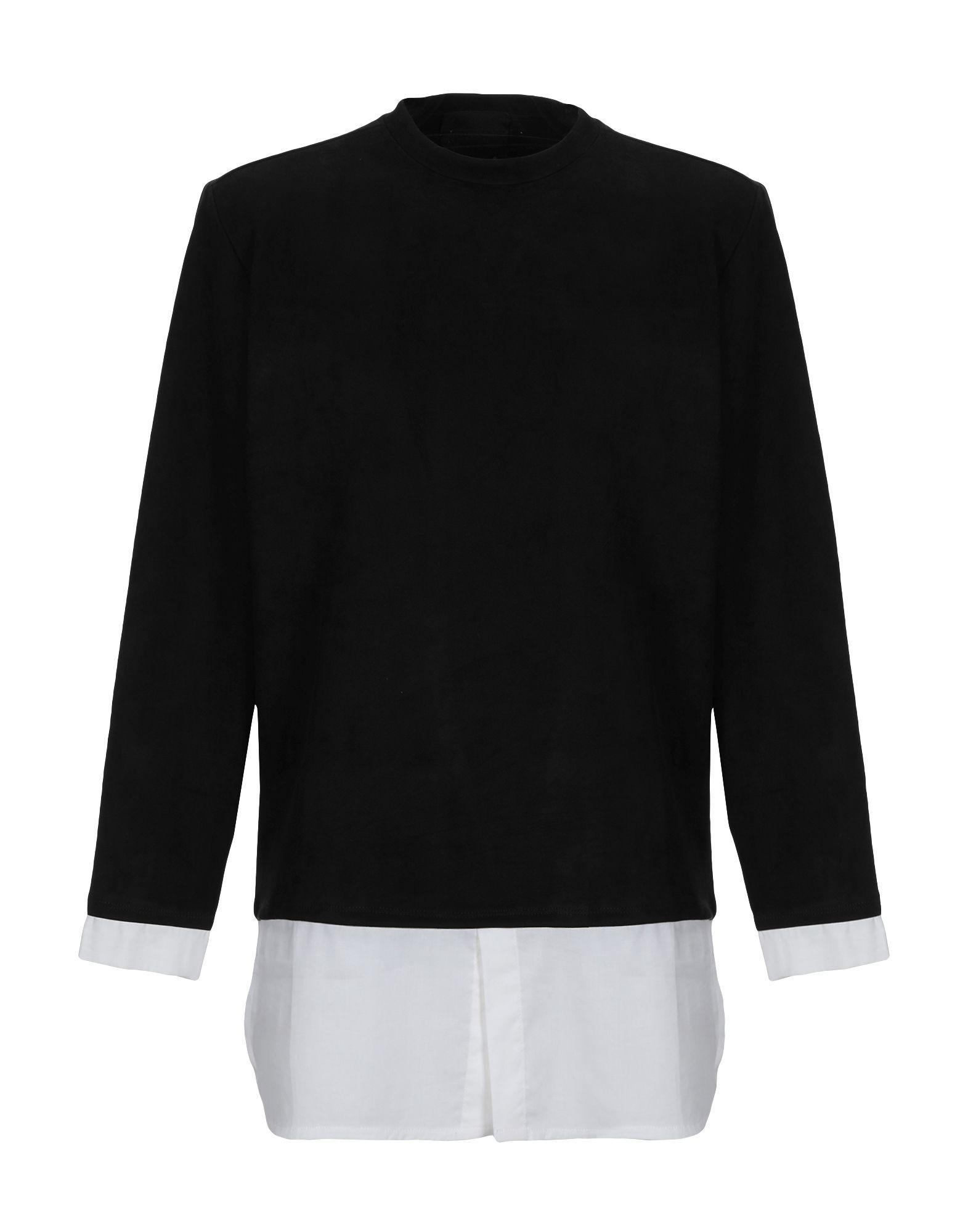 《期間限定セール開催中!》NUMERO 00 メンズ T シャツ ブラック L ポリエステル 91% / コットン 9%
