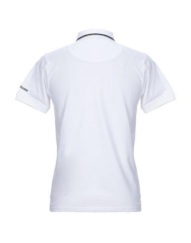 Фото 2 - Мужское поло  белого цвета