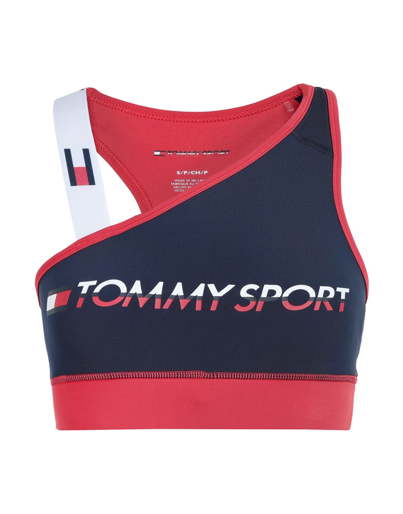 TOMMY SPORT Топ без рукавов топ спортивный tommy sport tommy sport to058ewfimv1