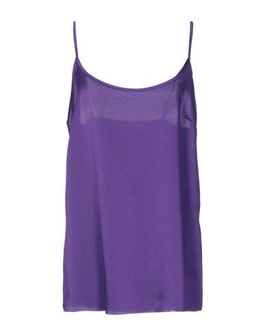 Купить Топ без рукавов фиолетового цвета