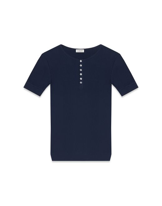 CASHMERE AND COTTON T-SHIRT - Lanvin