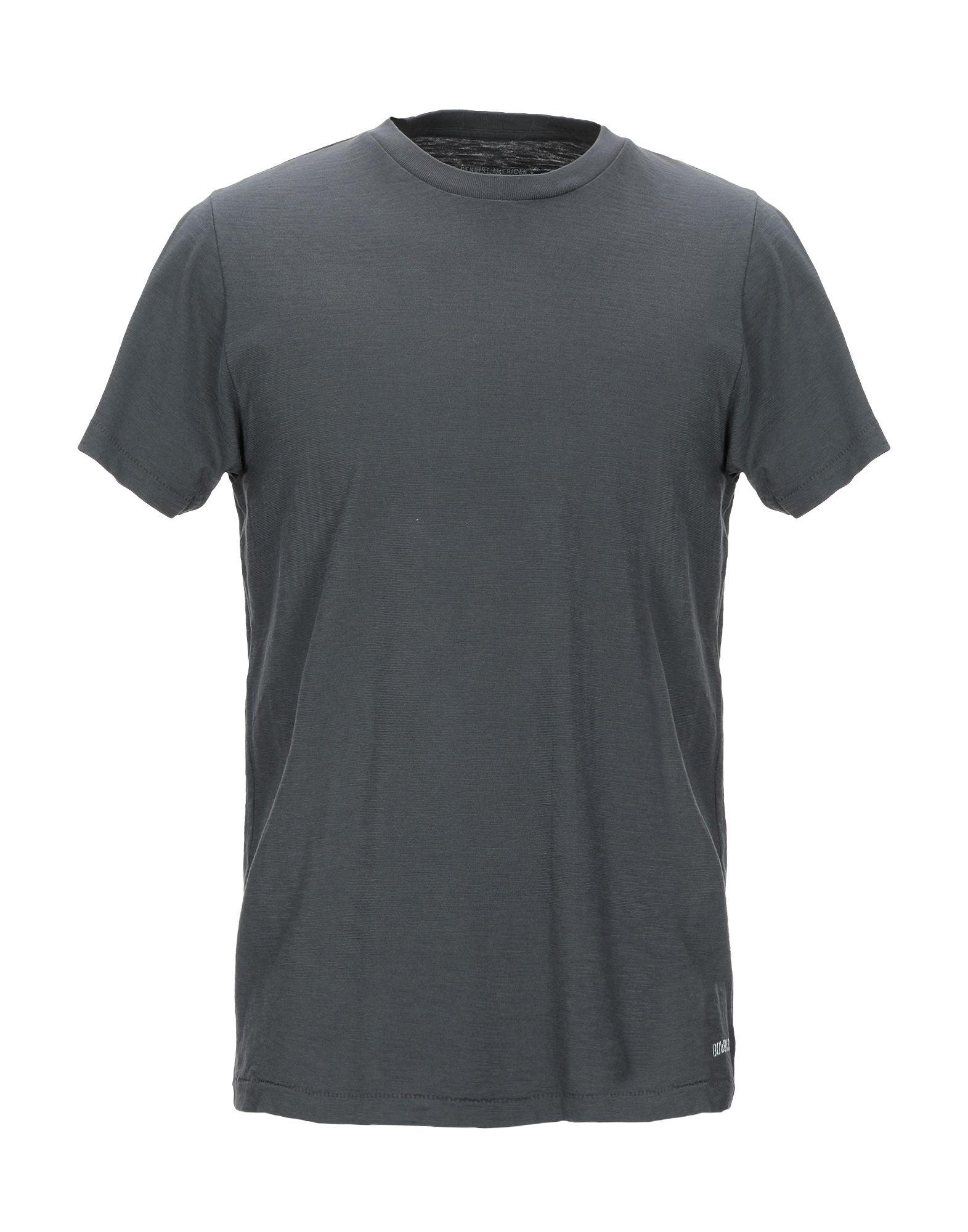 《送料無料》BOWERY メンズ T シャツ 鉛色 S コットン 100%