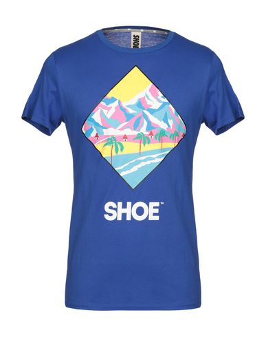 Фото - Женскую футболку SHOESHINE ярко-синего цвета