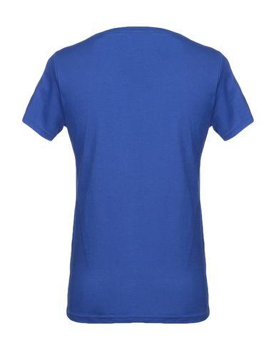 Фото 2 - Женскую футболку SHOESHINE ярко-синего цвета