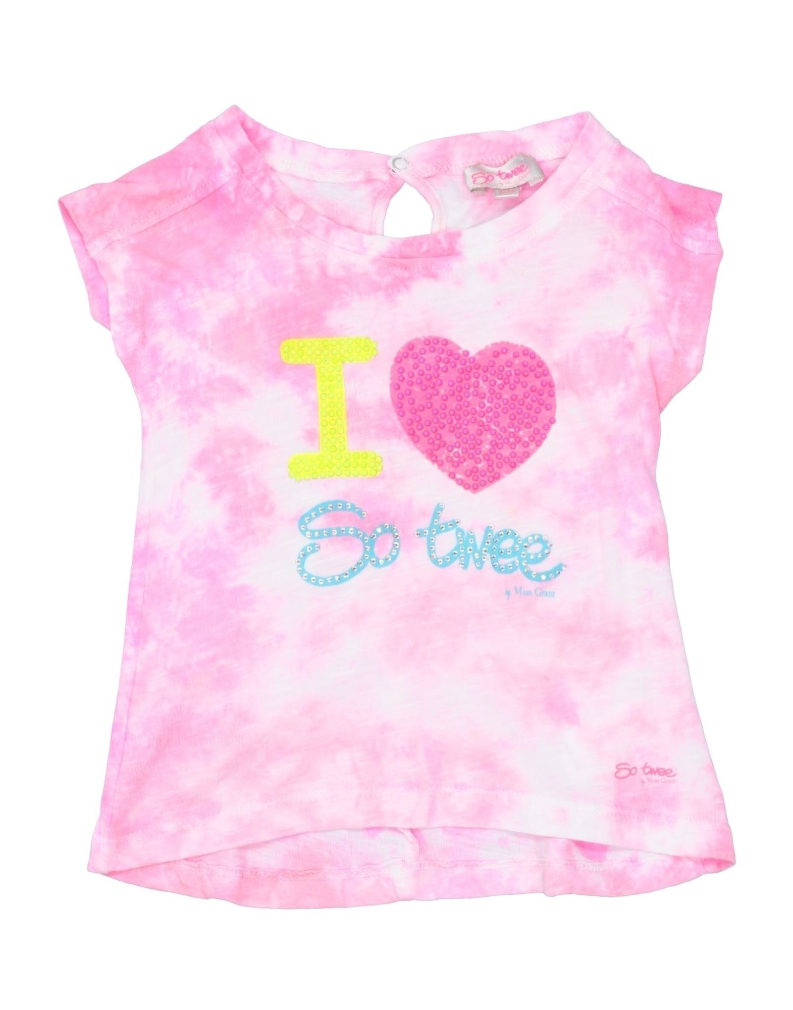 So Twee By Miss Grant Kids' T-shirts In Pink
