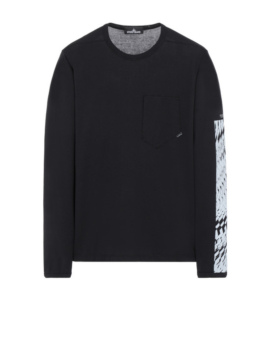 STONE ISLAND SHADOW PROJECT 長袖 カットソー 20214 PRINTED LS CATCH POCKET-T