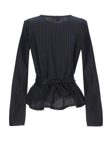 Фото 2 - Женскую блузку LOST INK темно-синего цвета