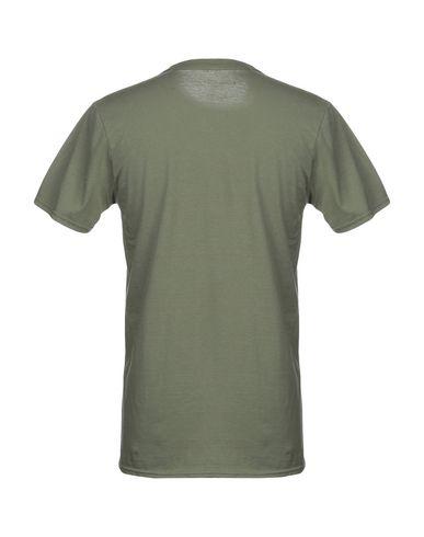 Фото 2 - Женскую футболку BOLONGARO TREVOR цвет зеленый-милитари