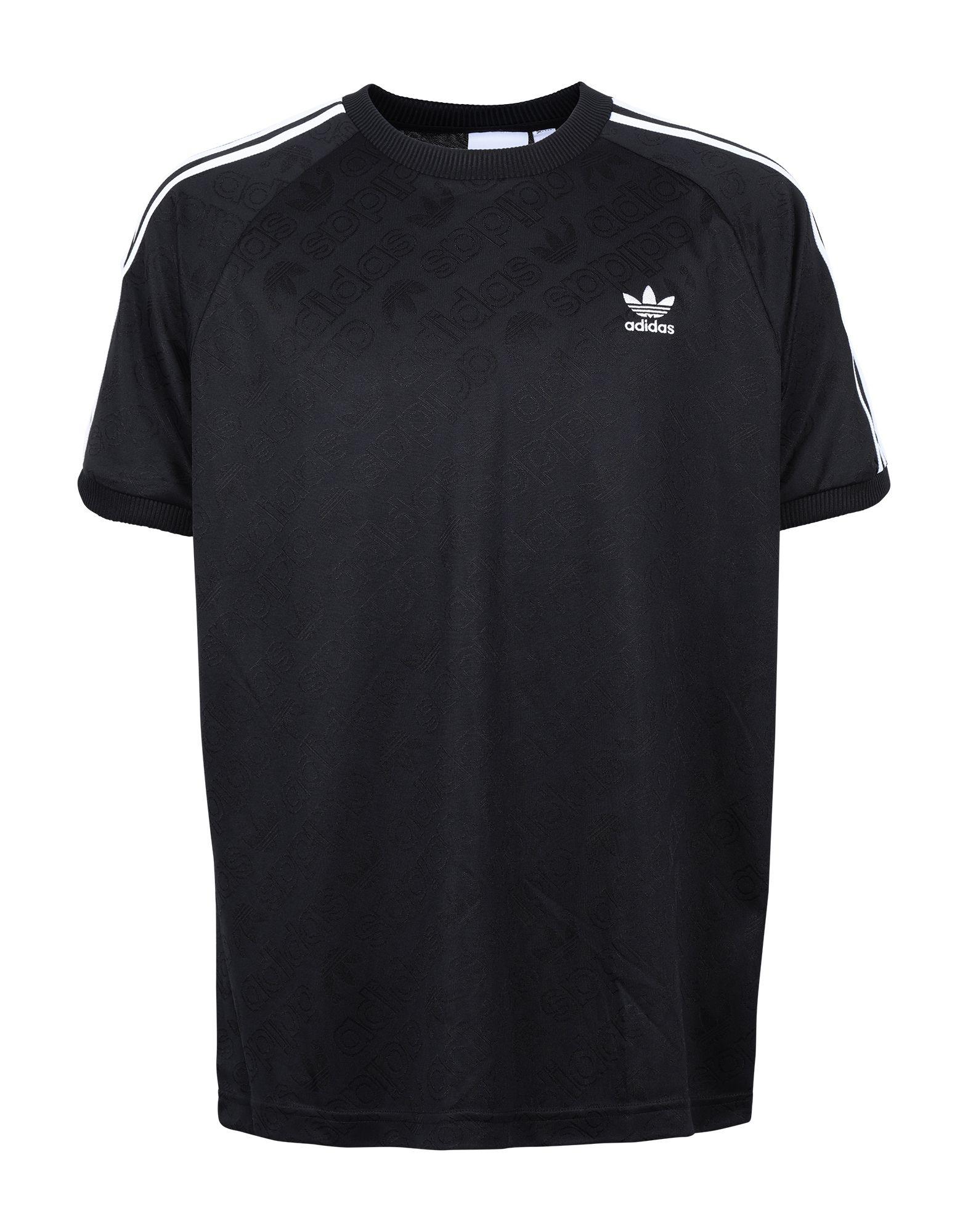 《セール開催中》ADIDAS ORIGINALS メンズ T シャツ ブラック S リサイクルポリエステル 63% / ポリエステル 37% MONO JERSEY