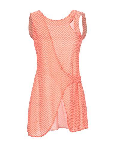 Купить Топ без рукавов оранжевого цвета