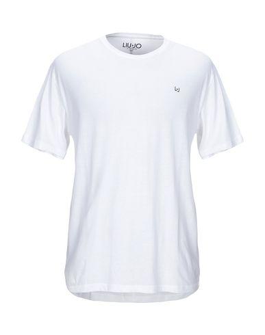 Фото - Женскую футболку LIU •JO MAN белого цвета