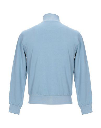 Фото 2 - Мужскую толстовку COOPERATIVA PESCATORI POSILLIPO небесно-голубого цвета
