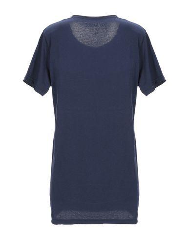 Фото 2 - Женскую футболку KO SAMUI синего цвета
