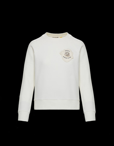 SWEATSHIRT Ivory T-shirts & Tops Woman