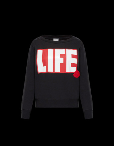 SWEATSHIRT Black T-shirts & Tops