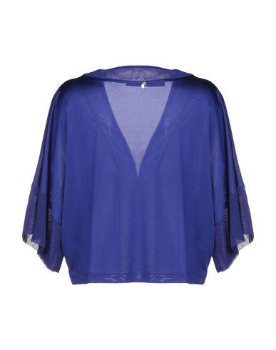 Фото 2 - Женское болеро  ярко-синего цвета