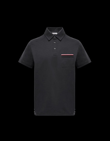 POLO SHIRT Dark grey Polos & T-Shirts Man