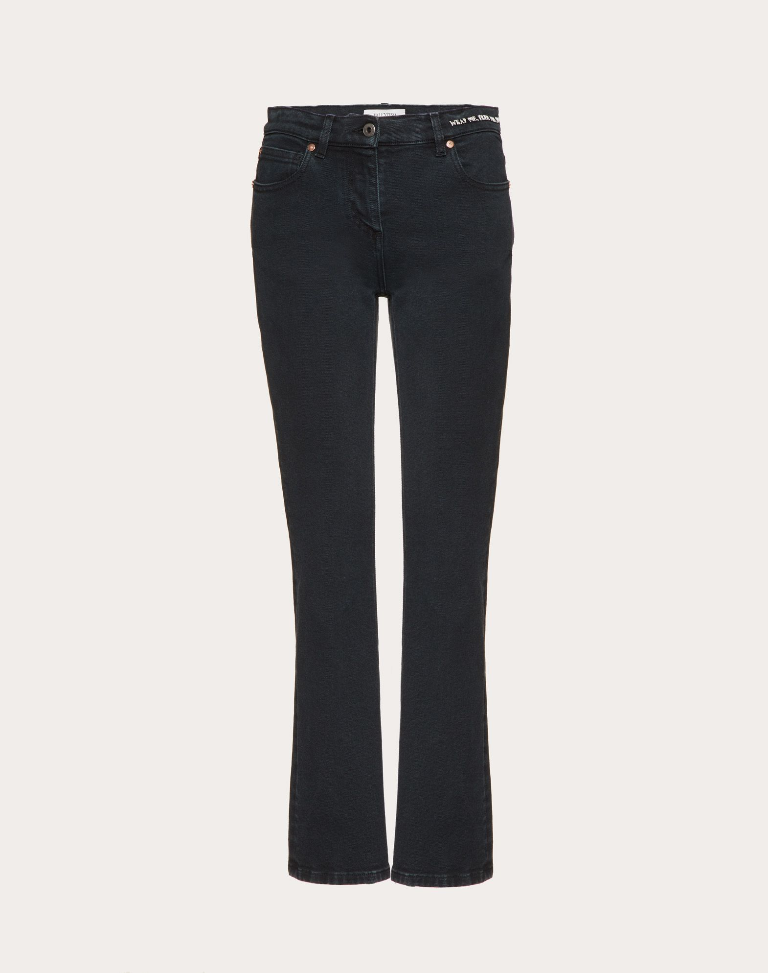 Poetry Embroidery Jeans