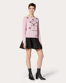 Undercover Wool and Cashmere Jumper with Embroidered Patch