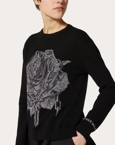 Undercover Inlay Wool and Cashmere Jumper