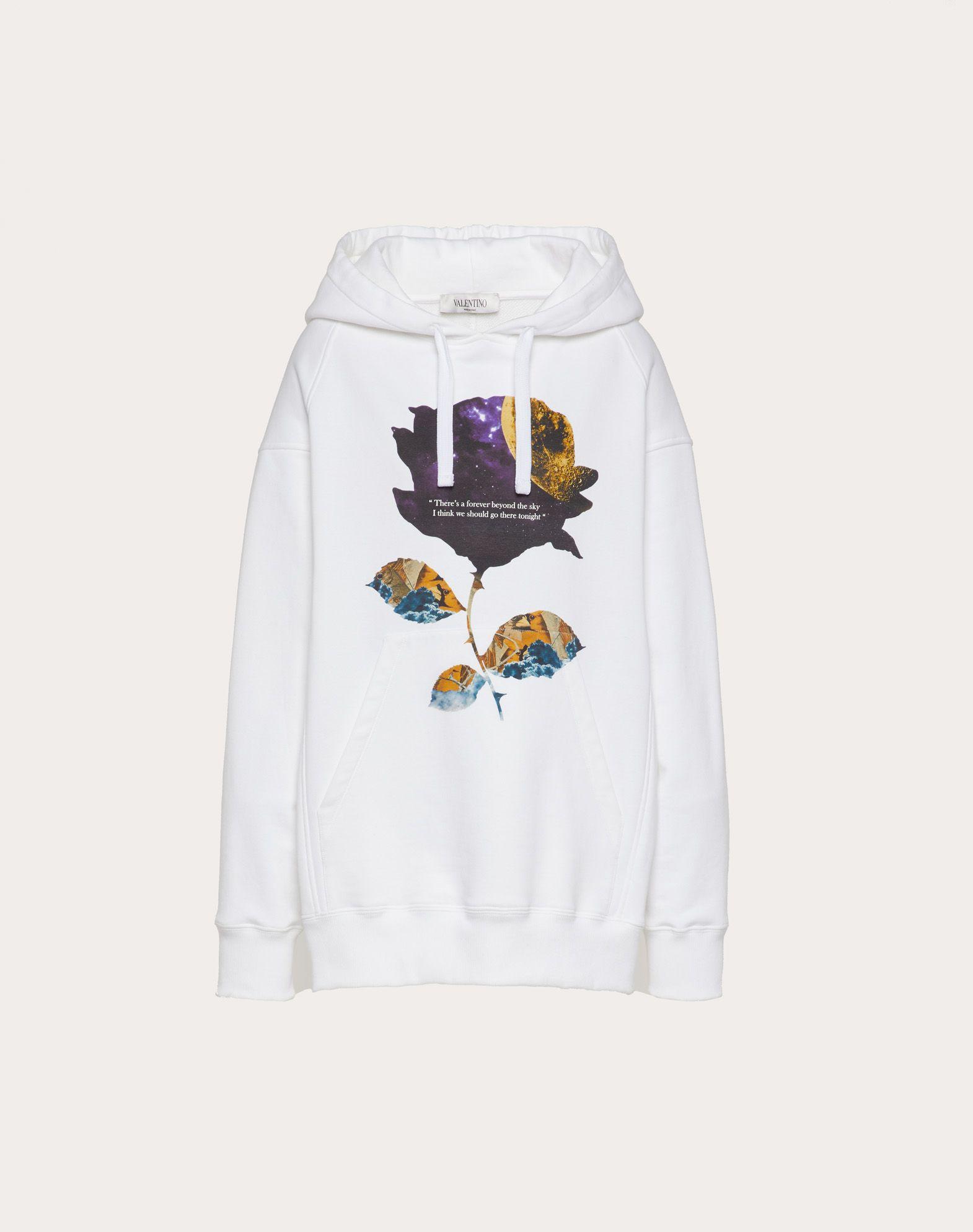 Undercover Print Cotton Jersey Sweatshirt