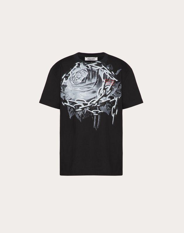 アンダーカバープリント コットンジャージー Tシャツ