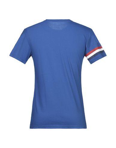 Фото 2 - Женскую футболку BULK синего цвета