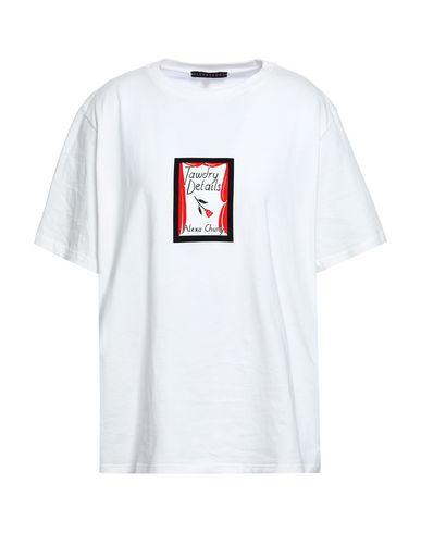 Фото - Женскую футболку ALEXACHUNG белого цвета